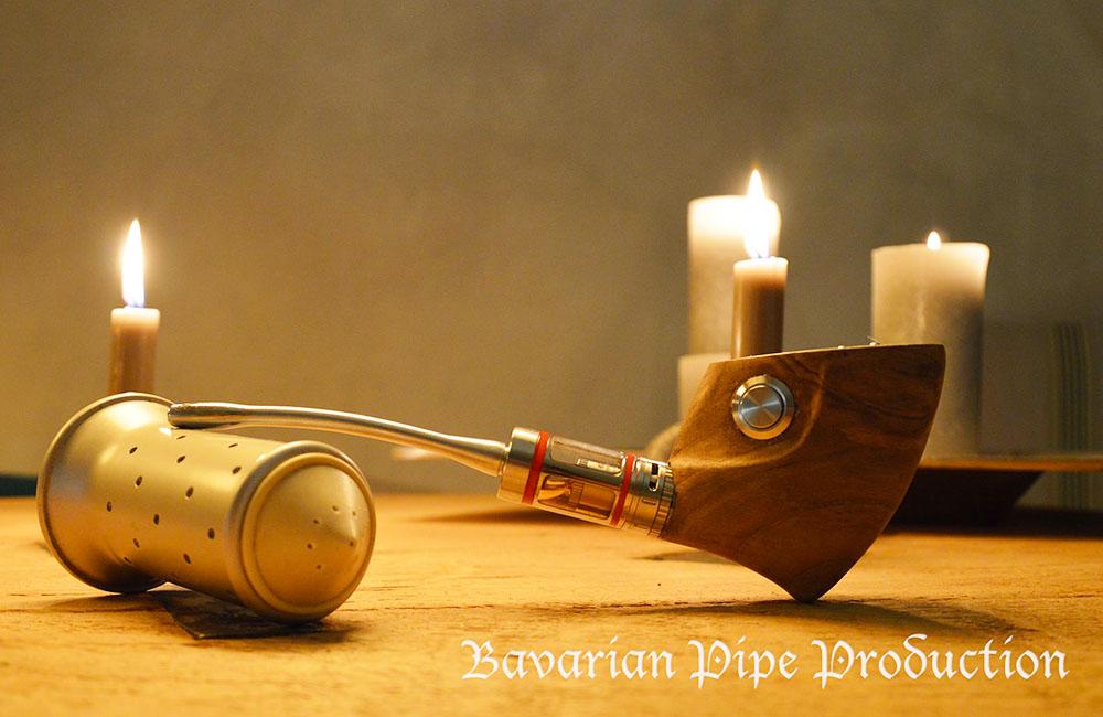 Bavarian Pipe Production elektrische Peife selbstgebaut DIY