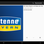 Squeezer Android App - Playeransicht