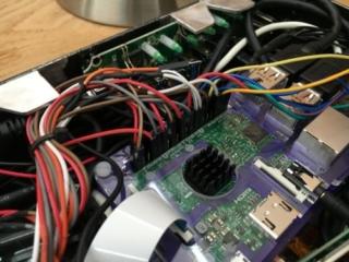 GPIO Kabel am Raspberry Pi