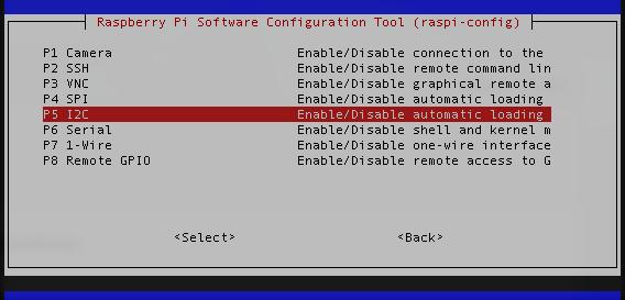 I2C Enable