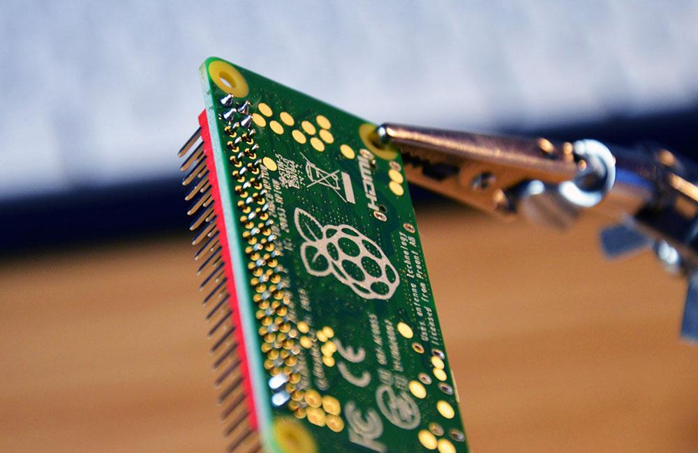 Vorschaubild für die Seite Raspberry löten