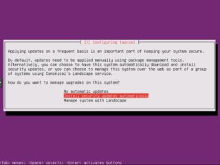 Ubuntu Installation: Automatische Updates