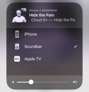 AirPlay Discovery im iPhone
