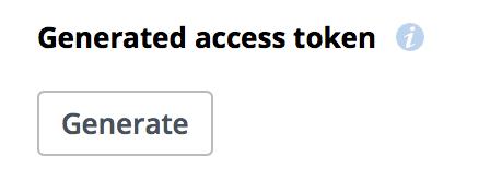 Dropbox API: Generate Access Token